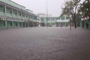 Học sinh Quảng Nam được nghỉ học ngày mai vì ngập lụt
