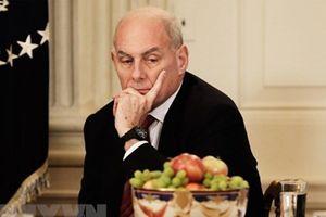 Chánh văn phòng Nhà Trắng John Kelly sẽ rời nhiệm sở vào cuối năm