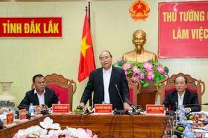 Thủ tướng Nguyễn Xuân Phúc: Đắk Lắk có sẵn thế mạnh, còn thiếu 'quả đấm thép'