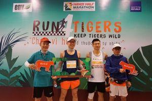 Hà Nội: Hơn 750 người tham gia giải chạy bảo vệ hổ