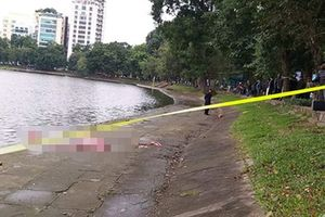 Phát hiện thi thể người đàn ông trên hồ Thiền Quang giữa trưa rét