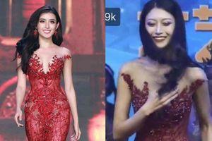 Không phải Tiểu Vy, váy của Miss Trung Quốc mới làm fan Việt nhốn nháo nhất đêm qua