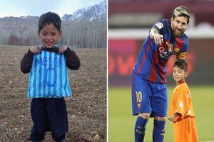 Câu chuyện buồn của cậu bé nổi tiếng với chiếc áo số 10 Messi bằng nylon