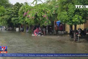 Mưa lớn ở Quảng Nam làm nhiều nơi ngập sâu trong nước
