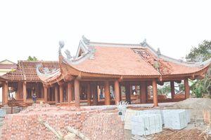 Thanh Hóa: Trùng tu, tôn tạo Điện Thừa Hoa và Từ đường Phúc Quang