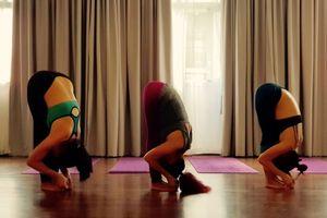 Yoga: tăng cường máu lên não với 'tư thế đứng gập người phía trước'