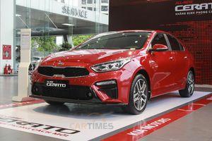 Thaco chốt giá Kia Cerato 2019, có thể lấy xe trước Tết