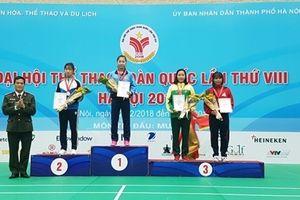 Thể thao CAND giành 23 HCV, chắc chắn trong nhóm 10 đoàn dẫn đầu