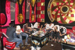 Bắt quả tang gần 60 nam nữ sử dụng ma túy trong quán karaoke ở Đồng Nai
