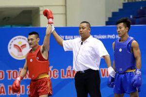 Đoàn Hà Nội đón 'mưa' HCV wushu trong ngày thi đấu cuối cùng