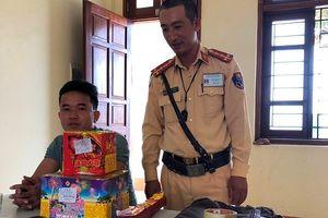 Vận chuyển pháo từ Lạng Sơn vào nội địa tiêu thụ trong dịp Tết