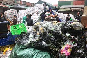 Tiểu thương chợ Vinh trắng tay sau vụ cháy kho hàng