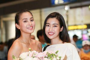 Đỗ Mỹ Linh đón Tiểu Vy về trong đêm muộn sau Hoa hậu Thế giới 2018