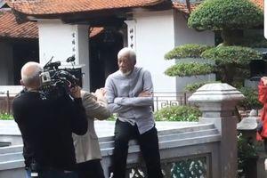Diễn viên từng giành giải Oscar Morgan Freeman lặng lẽ tới Việt Nam
