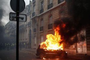 Biểu tình Áo vàng gây 'thảm họa' cho nền kinh tế Pháp