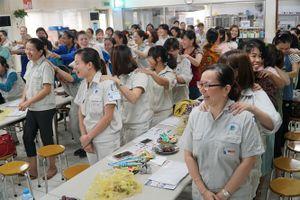 Truyền thông kỹ năng chăm sóc sức khỏe cho người lao động
