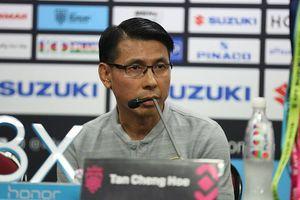 HLV Tan Cheng Hoe: 'Malaysia sẽ chơi tấn công trước đội tuyển Việt Nam'