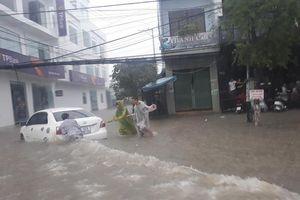 Quảng Nam: Mưa lớn, nhiều địa phương ngập sâu trong nước