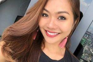 Bạn gái MC nổi tiếng đẹp tựa hoa hậu của cầu thủ đáng gờm nhất đội Malaysia