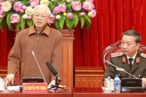 Bộ Công an giới thiệu nhân sự quy hoạch Ban Chấp hành Trung ương