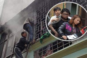 Phá 'chuồng cọp' cứu thanh niên mắc kẹt trong ngôi nhà bốc cháy