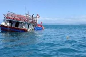 23 ngư dân ở Bình Định gặp sự cố tại biển ở Trung Quốc