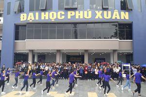 Thú vị với 'một ngày trải nghiệm' ở Đại học Phú Xuân