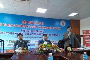 Giải Cở tướng trẻ Châu Á lần đầu tiên tổ chức tại Việt Nam