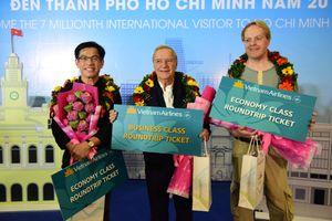 TP.HCM đón du khách quốc tế thứ 7 triệu