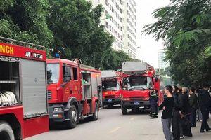Một phụ nữ tử vong trong vụ cháy căn hộ HH Linh Đàm