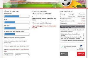 Bán vé trận Việt Nam - Malaysia kiểu 'nhỏ giọt', trang web VFF tiếp tục tê liệt