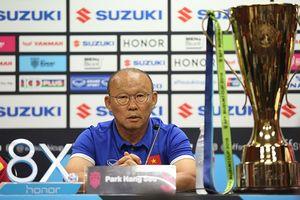 Mối quan tâm của thầy Park là chiếc cúp vàng AFF Cup