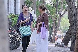 'Gạo nếp gạo tẻ' tập 94: Thể hiện khả năng chém gió, bà Mai được mẹ chồng khen nức nở