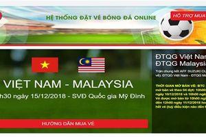 Cảnh báo về website giả, bán vé chung kết AFF Cup 2018