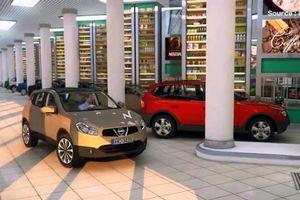 Xem cách dân cư ở thành phố toàn tỷ phú đi siêu thị trong thời đại 4.0