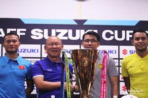 Chung kết lượt đi AFF Cup 2018: HLV Park và HLV Malaysia nói gì trước trận đấu?