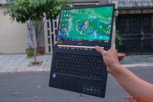 Đánh giá Acer Swift 5 Air Edition 2018: laptop siêu mỏng nhẹ chạy chip Whiskey Lake đầu tiên Việt Nam