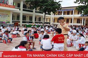 Gắn giáo dục với xử phạt nghiêm vi phạm ATGT ở Hương Sơn