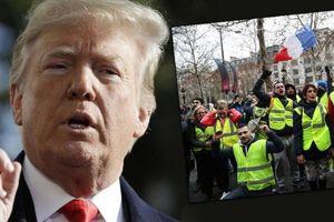 Pháp chỉ trích Tổng thống Mỹ can thiệp chuyện nội bộ