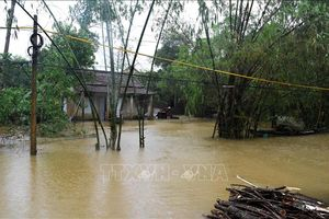 Mưa to gây ngập cục bộ ở Thừa Thiên - Huế