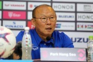 Họp báo AFF: Hé lộ lời dặn dò của HLV Park Hang-seo với các học trò cưng