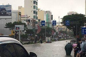Đà Nẵng tái ngập sâu chỉ sau một cơn mưa