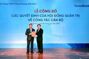 Ông Trần Minh Bình chính thức nhậm chức Tổng Giám đốc, Ban điều hành VietinBank đón thêm người