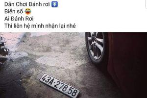 Sau lụt lịch sử Đà Nẵng, Facebook 'ngập' tin tìm biển số xe