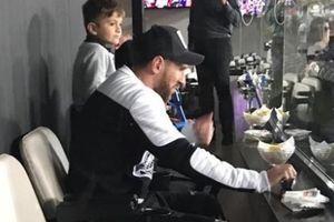 Messi và hàng loạt cái tên máu mặt tề tựu ở Bernabeu