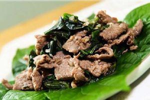 Bí quyết nấu thịt dê xào lá lốt đưa cơm cho cả gia đình bạn