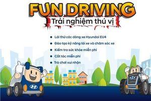 Fun Driving – Trải nghiệm thú vị cùng xe tải Hyundai khắp các tỉnh thành