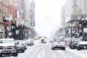 Bão tuyết tấn công đông nam nước Mỹ, có nơi rơi dày tới nửa mét