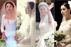 Hoa cưới của Song Hye Kyo, công nương Kate Middleton và nhiều sao Hàn có giá đến 207 triệu đồng