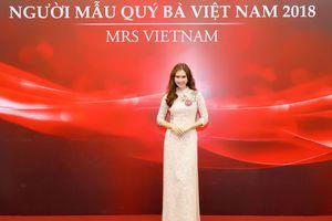 Diễn viên 'Sống chung với mẹ chồng' vào chung kết Người mẫu Quý bà Việt Nam 2018